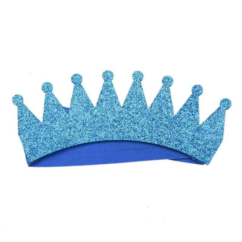 Banda para el cabello para Recién Nacido corona brillante cinta elástica para el cabello para Bebé Ropa para la cabeza para recién nacido