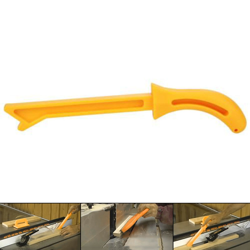 Yellow Wood Saw Push Stick For Carpentry Table Working Blade Router Durable Kit in Tool Parts from Tools
