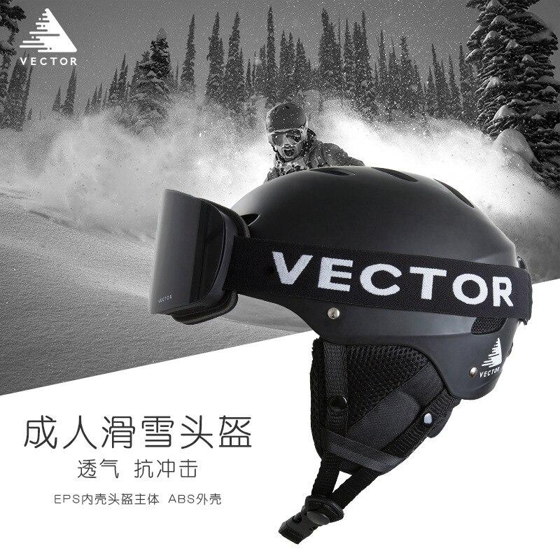 Casque de Ski professionnel réglable en plein air ultra-léger respirant intégral-moulé Skateboard Snowboard casque
