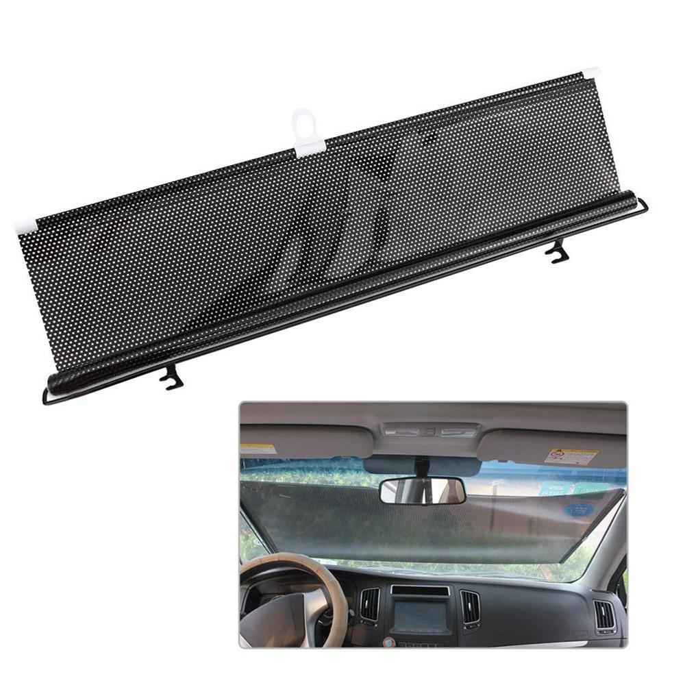 58x125cm Auto Windshield Sunshade Reflective Sun - Shade For Car Cover Visor Wind Shield Car Sun Shade Curtain