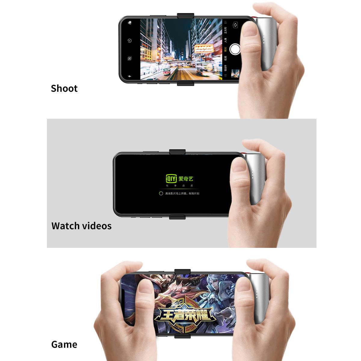 ROCHE chargeur portatif fin 5000 mAh Pour Huawei pour Xiaomi Chargeur de Téléphone Portable avec le Type C Bluetooth Recharge Rapide Powerbank
