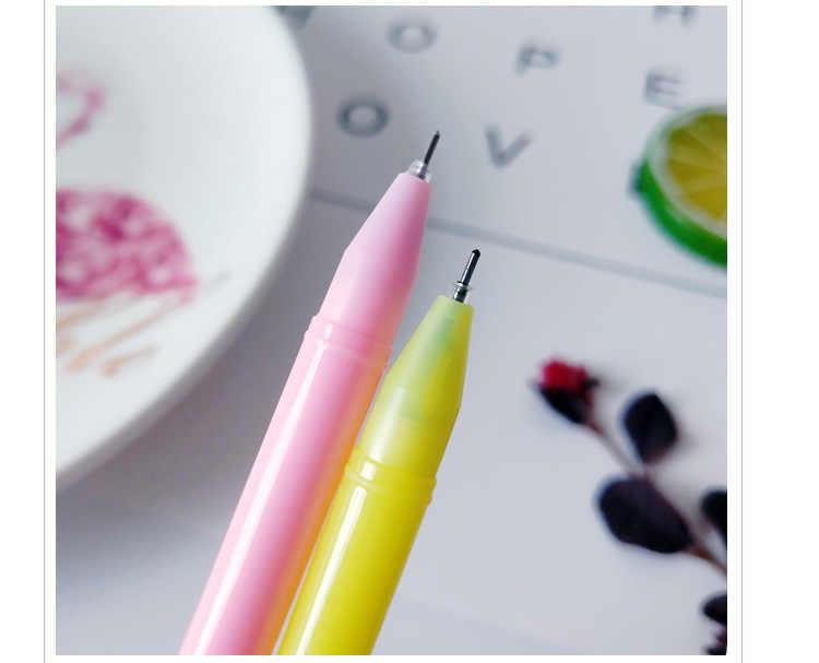 Ellen Brook 1 ชิ้นเกาหลีเครื่องเขียนน่ารัก Unicon Horse Angel Moon เจลปากกาสำนักงานโรงเรียน Kawaii Supply นวนิยายสร้างสรรค์ของขวัญ