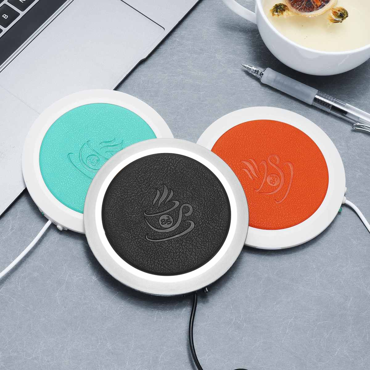 Warmtoo USB Insulation Heater Heat Insulation Electric Multifunction Coffee Cup Mug Mat Pad Home Useful Accessories