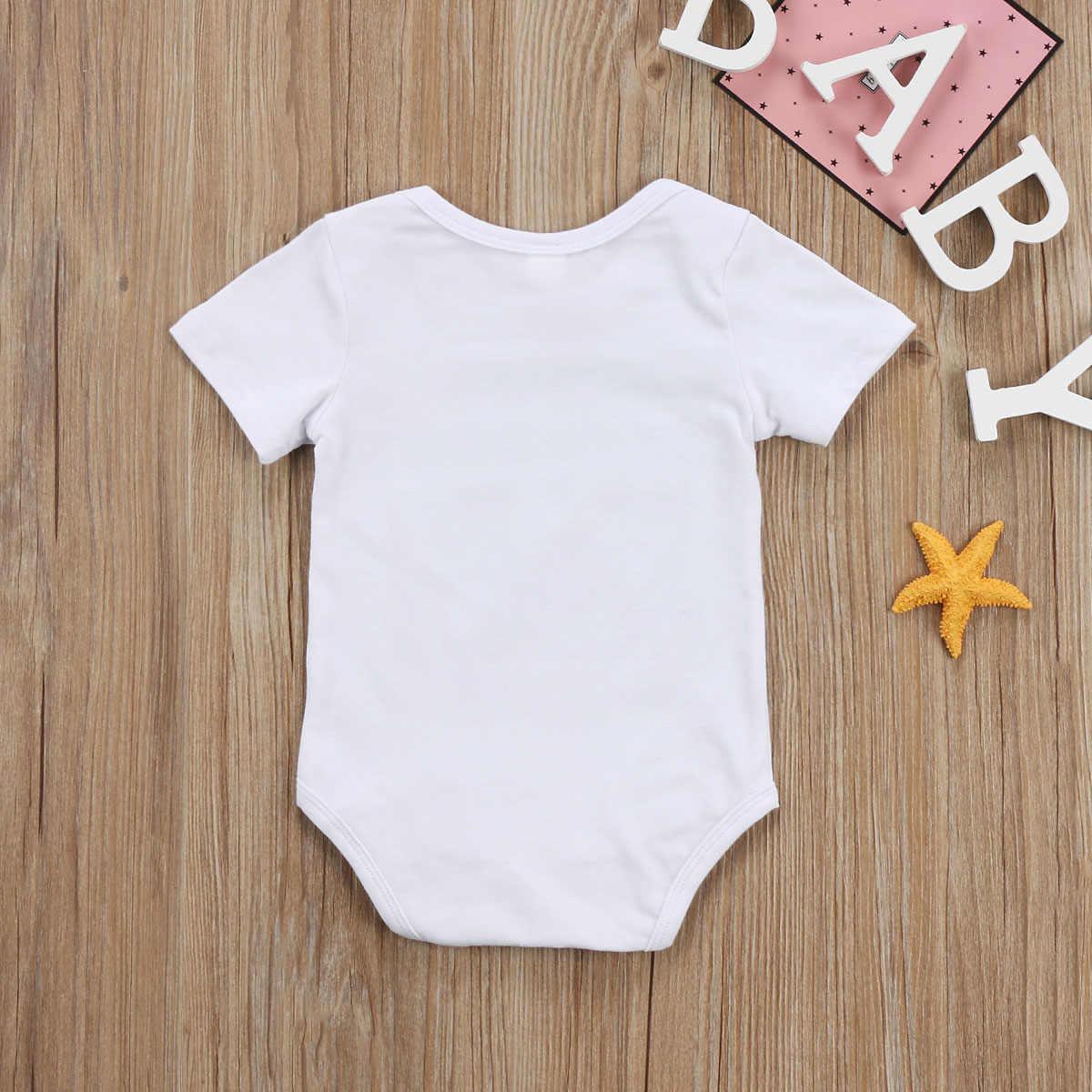 תינוק בגד גוף!! יילוד תינוקות תינוק ילד ילדה כותנה ארוך שרוול מכתב בגד גוף בגדי תלבושות סט גודל 0-24 m