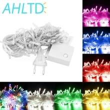 10M 100 LED String Decoration Light Multicolour Outdoor for Party Wedding Christmas Garden lights 220V/110V 8 Display Modes
