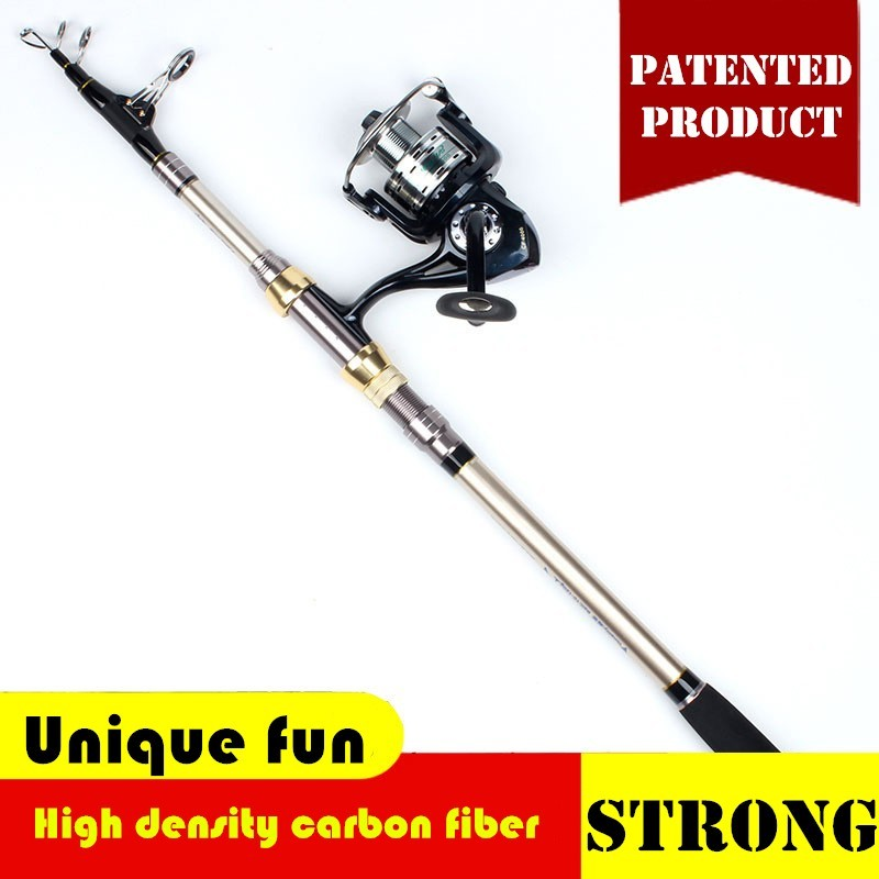 US $48 28 |2 1/2 4/2 7/3 6/4 2/4 5 M Slow Jigging Fishing Rod Surf Cast  Spinning Reel Set Hard Pole Fly Feeder Gear Kit Cane Pesca Ice Reed-in Rod