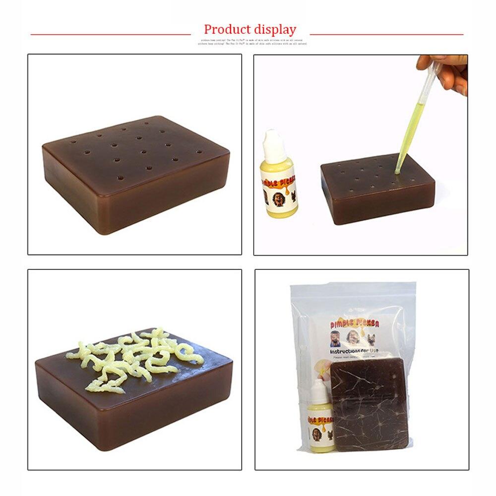 Spoof Vent имитация прыщей игрушка мягкие силикагель вечерние реквизит для снятия стресса Buster средство для снятия Поппера Новинка сжимайте акне игрушка