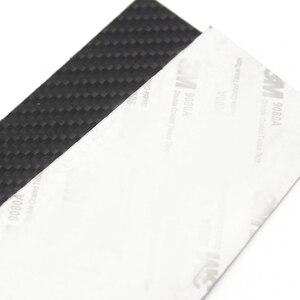 Image 5 - 6pcs Car Carbon Fiber Window B pillar Molding Decor Cover Trim For Mercedes Benz GLA Class 2013 2014 2015 2016 2017 2018