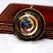 Ожерелье с подвеской Orgonite Energy камень «Reiki», удачи, помощь брекера, ожерелье с любовными чувствами, таинственное ювелирное изделие в стиле Харадзюку, чакра