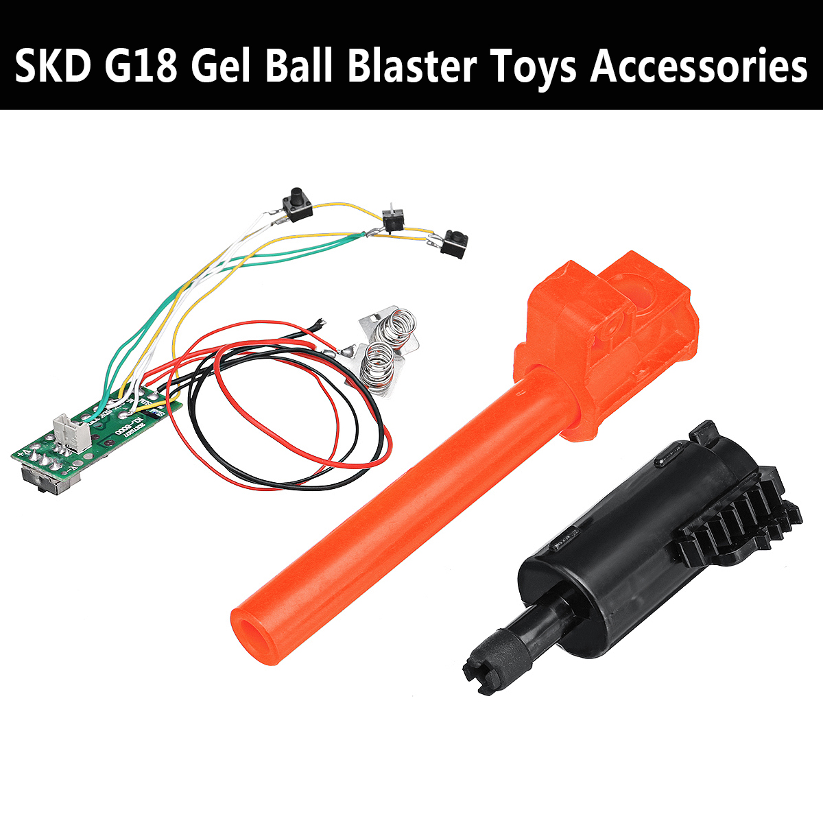 Spring For SKD G18 T-piece Plunger Circuit Line Gel Ball Toys Guns Accessories