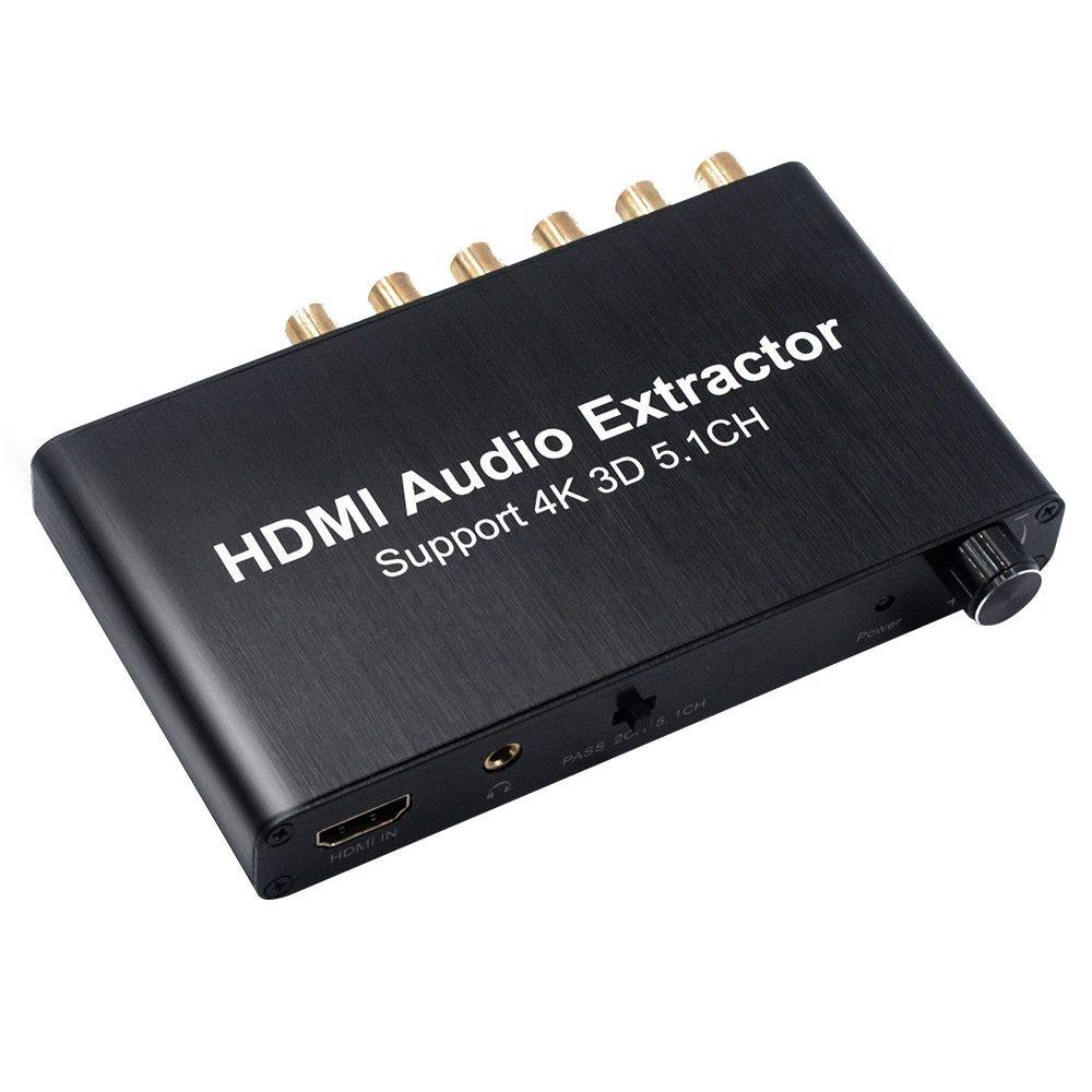 HDMI Audio Decoder HDMI 5.1 Audio Decoder Do lby 4K 3D 13.7 x 7.7 x 2cm fischer audio x 02