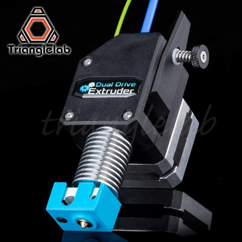 Trianglelab de alto rendimiento BMG extrusora clonado Btech Bowden extrusora Dual extrusora para 3d impresora para 3D impresora MK8 - 3