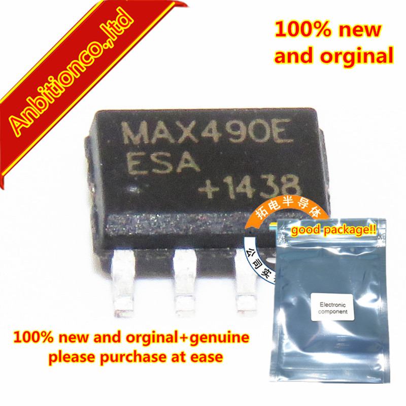 100 шт 100% новое и оригинальная MAX490EESA СОП-8 15kV ESD-Protected, убил-rate Limited, низкая-Мощность, RS-485/RS-422 Transceive в наличии