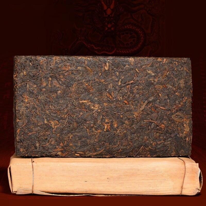 500g Mehr Als 20 Jahre Alt Klassische Qualität Alter Reifer Puer Tee Chinesischen 1997 Jahr Yunnan Großen Blatt Alte Baum Pu Er Puerh Pu Erh SchöN In Farbe