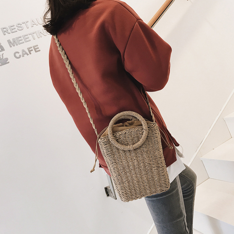 9ad609b0284a Tweet Bird 2019 Straw Bag Rattan Clutch Handbag Leisure Vacation Tote  Summer Beach Bags For Women