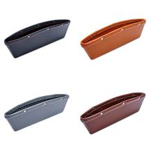 Car Seat Slot Box Storage Bag Leather Garment Keys Portable Interior Decoration Accessories Supplies Universal