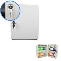 Caixa de chave de gestão de chave de carro de caixa de chave de 20 dígitos fixado na parede com cartão de chave de armazenamento de segurança propriedade empresa escritório dhz023