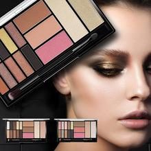 15 Color Makeup Tray Beauty Matte Eyeshadow Palette Flash Multi-function Waterproof Lasting Cosmetics Product