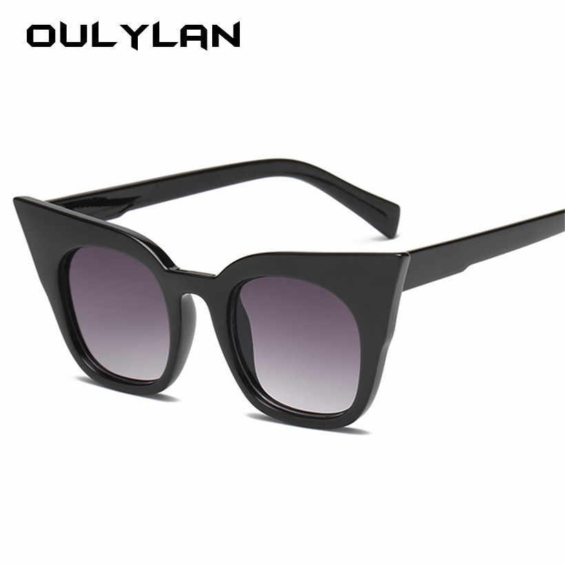 166c4efa30 Oulylan Cat Eye Sunglasses Women Kids Cute Brand Designer Gradient Sun  Glasses Ladies Vintage Eyewear Parent