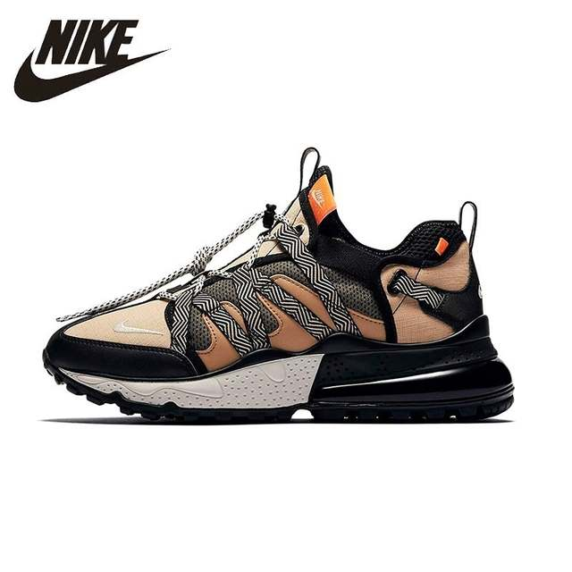 NIKE AIR MAX 270 New Arrival Mens Running Shoes Mesh Breathable Comfortable Stability Support Sports Sneakers For Men Shoes