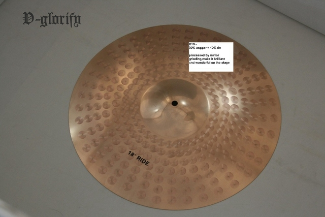"B10 12"" Splash Cymbal for Drum Set"