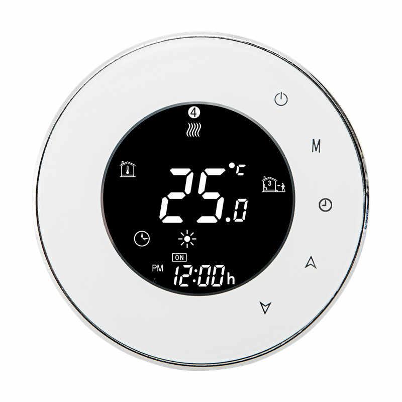 Termostat WiFI Akıllı Dijital Termostat Dokunmatik h Ekran Oda Isıtma Programlanabilir Termostat Odası sıcaklık kontrol cihazı