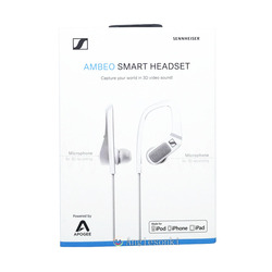 AMBEO Smart Headset (iOS) Active Noise Cancellation, Transparent Hearing and 3D Sound Recording Senn.heiser