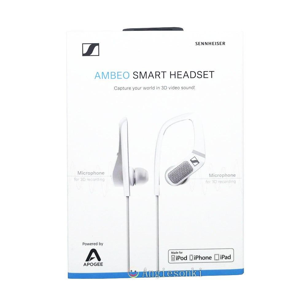 AMBEO casque intelligent (iOS) annulation Active du bruit, audition transparente et enregistrement sonore 3D Senn. heiserAMBEO casque intelligent (iOS) annulation Active du bruit, audition transparente et enregistrement sonore 3D Senn. heiser