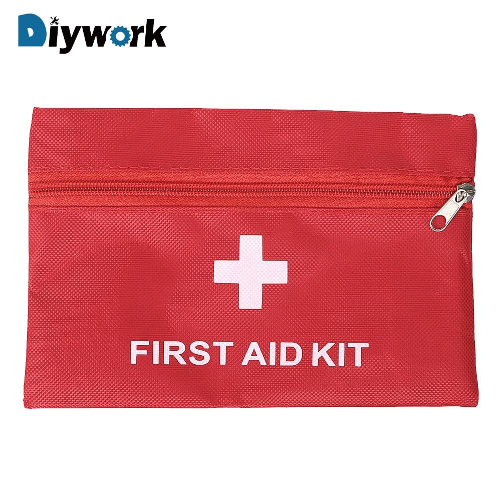 DIYWORK аптечка мешок пустой Оксфордский тканевый мешок медицинский набор первой помощи инструменты для хранения упаковка сумка для инструментов 20*14 см портативный
