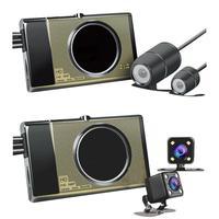 Motorcycle Camera Motorcycle Recorder Locomotive Recorder With Hidden Front and Back Dual Cameras G sensor Loop Recording