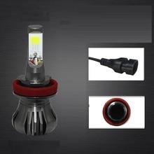 Zarpooz Super Bright Car Headlamp Fog LED Light Bulbs H3 H8 H9 H11 880 881 Signal Warning Fog Light Bulb 2pcs/lot