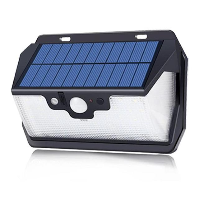 1000lm 55LED Waterproof Garden Solar Light USB Charging 2