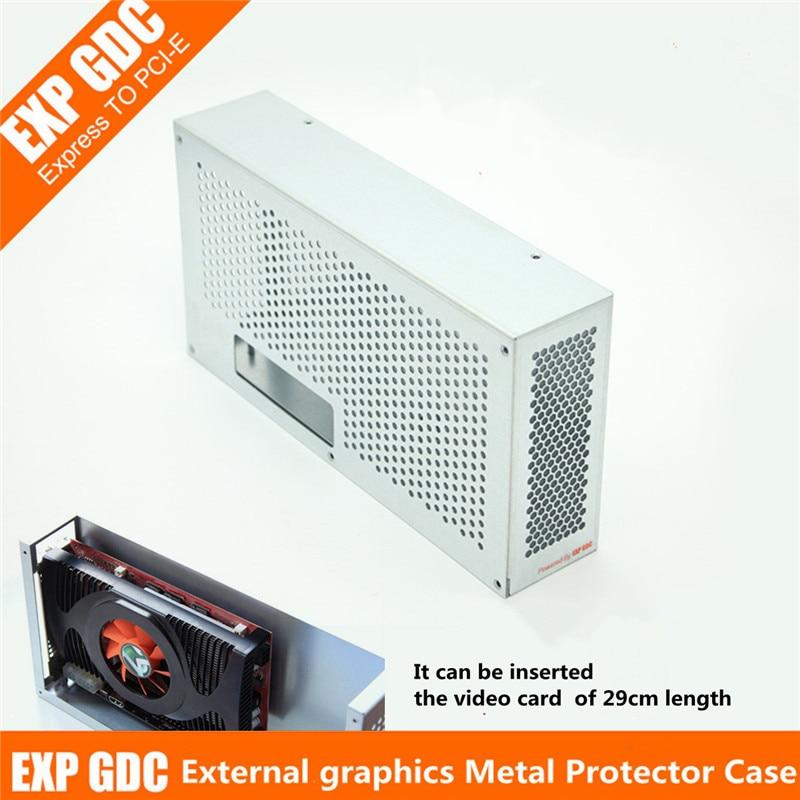 V8.0 EXP GDC externe carte vidéo indépendante boîtier de protection en métal pour bête ordinateur portable