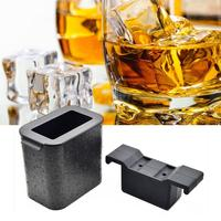 Silicone Whiskey Stones Ice Cubes Making Mold Bucket Magic Vodka Wine Beer Cooler Bar KTV Whisky Holder Chiller Tools Mold