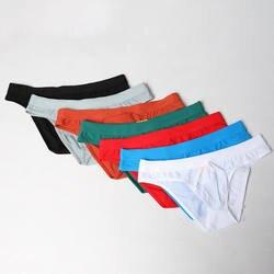 AIIOU пикантные 7 шт./лот нейлон для мужчин нижнее бельё для девочек бикини-танга трусики женщин брюки пенис мешок Удобные одноцветны