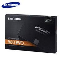 SAMSUNG SSD 860 EVO 120GB 250GB Internal Solid State Disk HD Hard Drive SATA 3 2.5 for Laptop Desktop SSD Disk 500G 1T 2T 4T