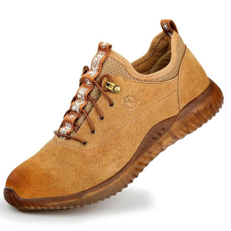 Safety Shoes Cap Steel Toe Safety Shoe Boots For Summer Man Work Shoes Men Breathable Mesh Size Footwear Wear-resistant DXZ016  Safety Shoes Cap Steel Toe Safety Shoe Boots For Summer Man Work Shoes Men Breathable Mesh Size Footwear Wear-resistant DXZ016