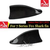 F01 Car Roof Antenna Shark Fin Carbon Fiber B Style For 740i 750i 760i 740li Shark Fin Aerials Antenna Cover Shark Fin 2011 2015