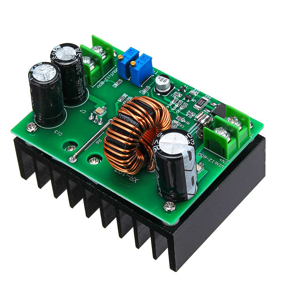 DC 600W 10-60V to 12-80V Boost Converter Step Up Module Power Supply image