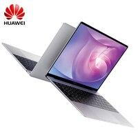 HUAWEI MateBook 13,0 ноутбук Win10 Intel Core I5/I7 4 ядра 8 GB 256G/512G отпечатков пальцев 3670 mAh WRT W19B Тетрадь двухдиапазонный Wi Fi