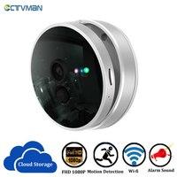 CTVMAN فيديو كاميرا WIFI 1080 P الأمن كاميرا سحابة اللاسلكية مراقبة كاميرا المنزل WIFI 2MP CCTV كاميرا مراقبة أي بي اتجاهين الصوت