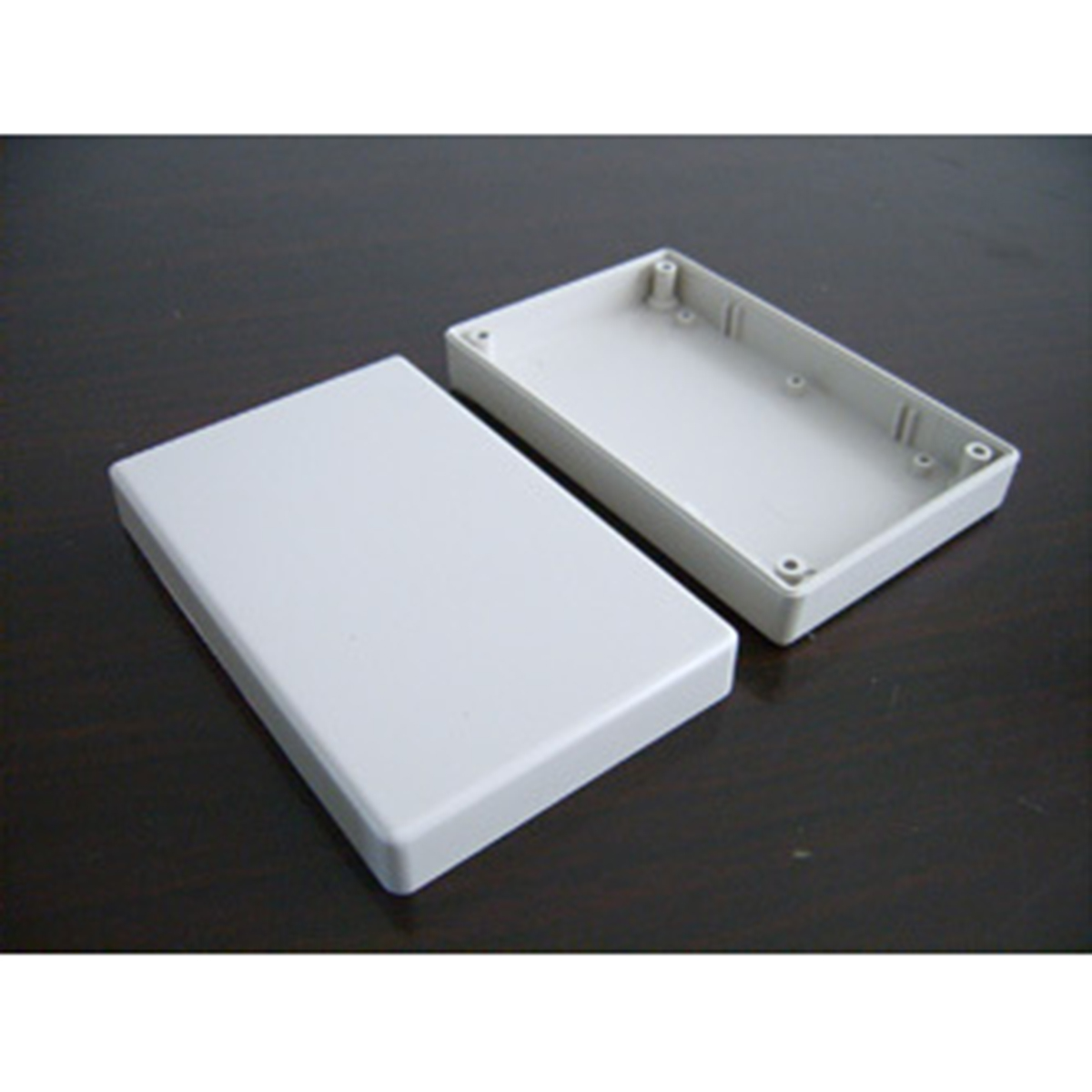White Electronic Project Case Waterproof Plastic Cover Enclosure Box 125x80x32mm For Power Supply Units waterproof plastic abs electronic project box enclosure case 200x120x75mm white