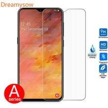 С уровнем твердости 9H Экран протектор Закаленное Стекло Крышка для samsung Galaxy A90 A80 A70 A60 A50 A40 A30 A20 A10 M30 M20 A2Core A7 чехол пленка