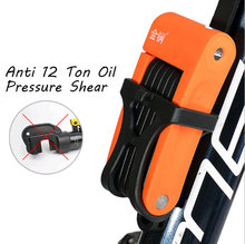 Anti theft Bicycle Lock Anti-shear of 12 ton Hydraulic Cutter Bike Motorcycle Electric Part Chain
