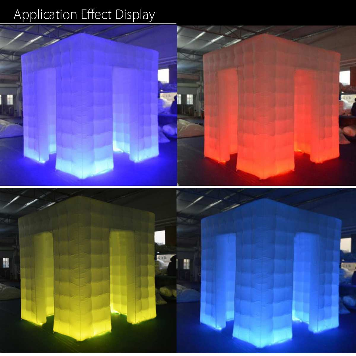 Christmas Inflatable Photo Cabin Inflatable Cube Tent LED Color Bulb Strip Inflatable Photo Photography Booth Photography CubeChristmas Inflatable Photo Cabin Inflatable Cube Tent LED Color Bulb Strip Inflatable Photo Photography Booth Photography Cube