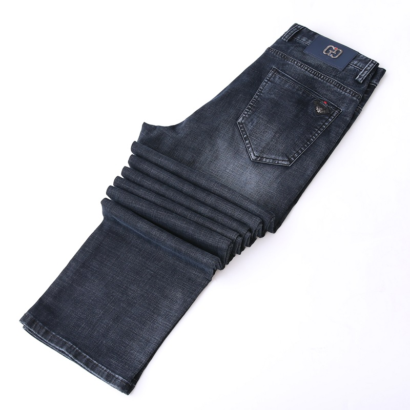 Big Tall Men Clothing 195 210 High Height Male Denim Pants Plus Size Men's Jeans Summer Straight Super Long Extra 130cm Length