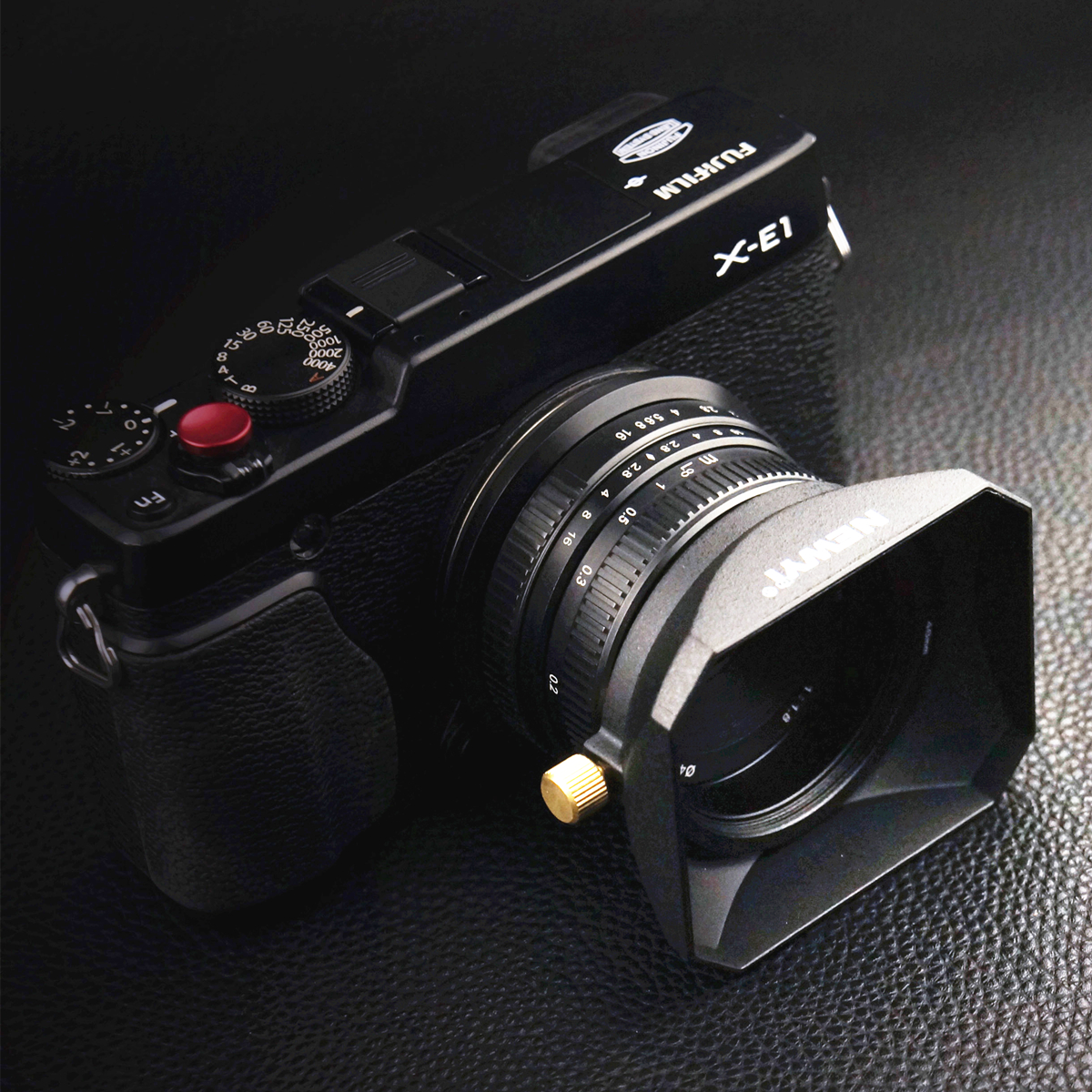 Square <font><b>Lens</b></font> <font><b>Hood</b></font> for Sony Fujifilm Olympus Mirrorless Camera <font><b>Lenses</b></font> DV Camcorders 37 39 40.5 43 46 49 52 55 <font><b>58</b></font> mm image