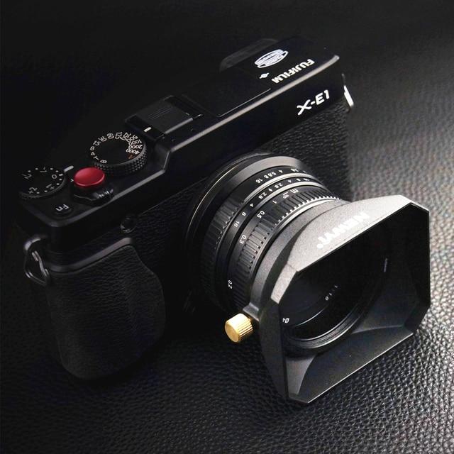 Vierkante Zonnekap voor Sony Fujifilm Olympus Mirrorless Camera Lenzen DV Camcorders 37 39 40.5 43 46 49 52 55 58 mm