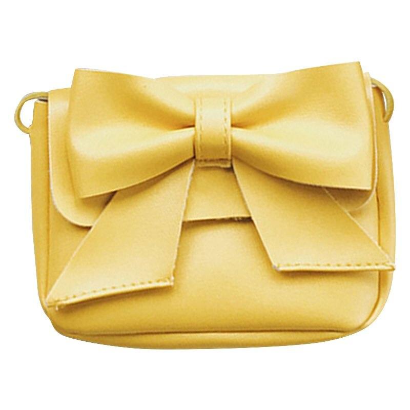 1 Pcs Nette Kinder Handtasche Mädchen Taschen Mode Baby Pu Leder Schulter Taschen Candy Geldbörse Brieftasche Kleinkind Bowknot Taschen Quell Sommer Durst