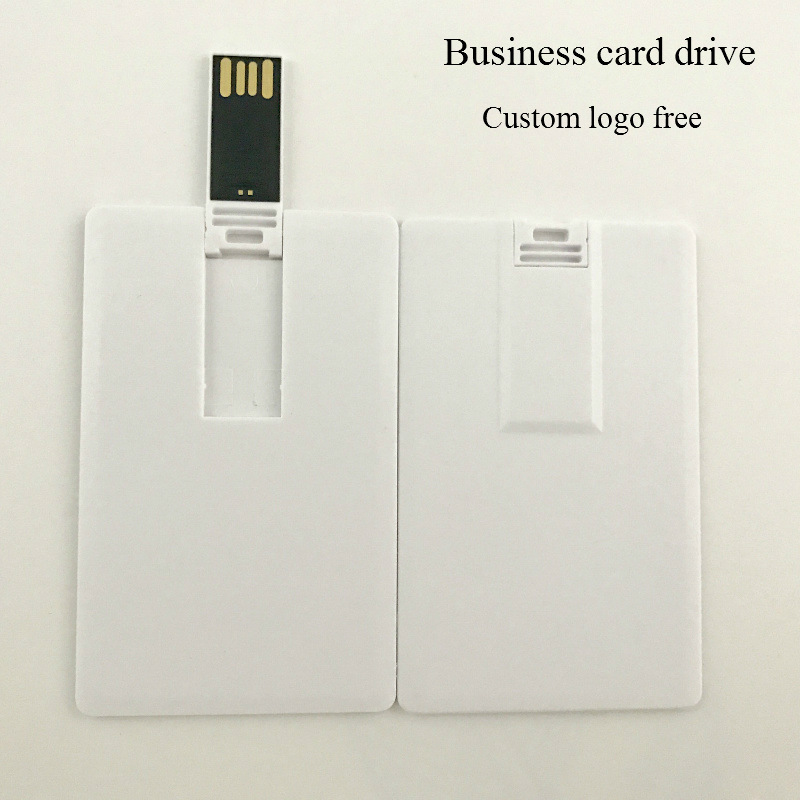 4gb 8gb 16gb 32gb Wholesale customized photography image credit card usb flash drive Business & Holiday gift usb flash drive image